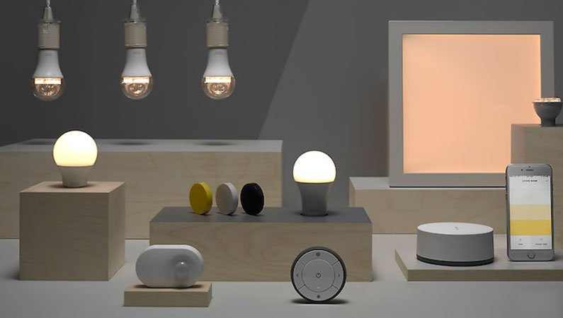 controllare Ikea Trådfri con Amazon Alexa