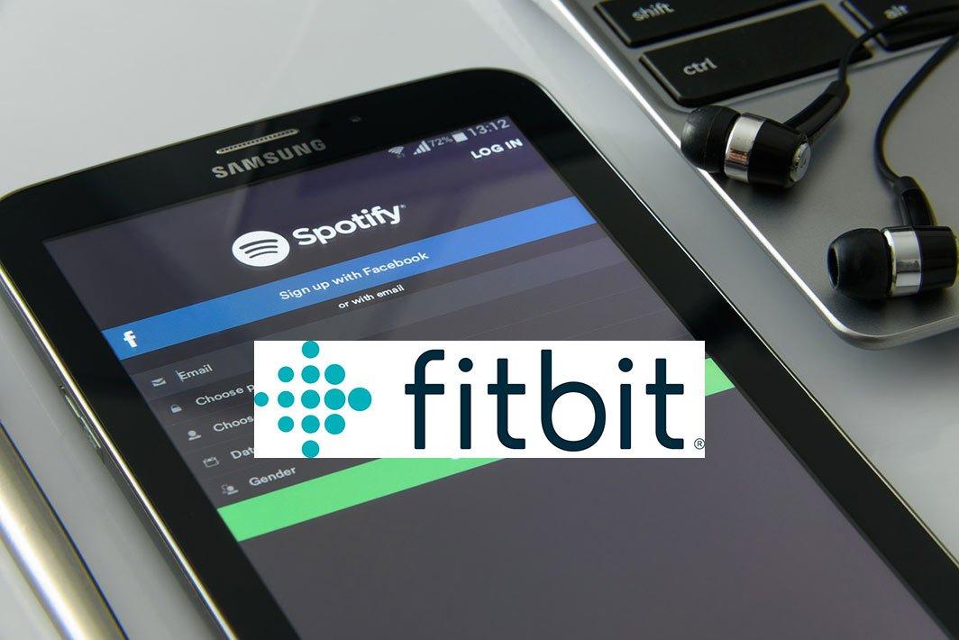 Fitbit e Spotify