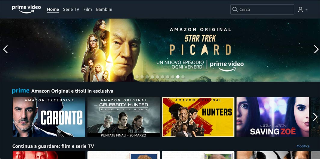 Come guardare Amazon Prime Video con Chromecast