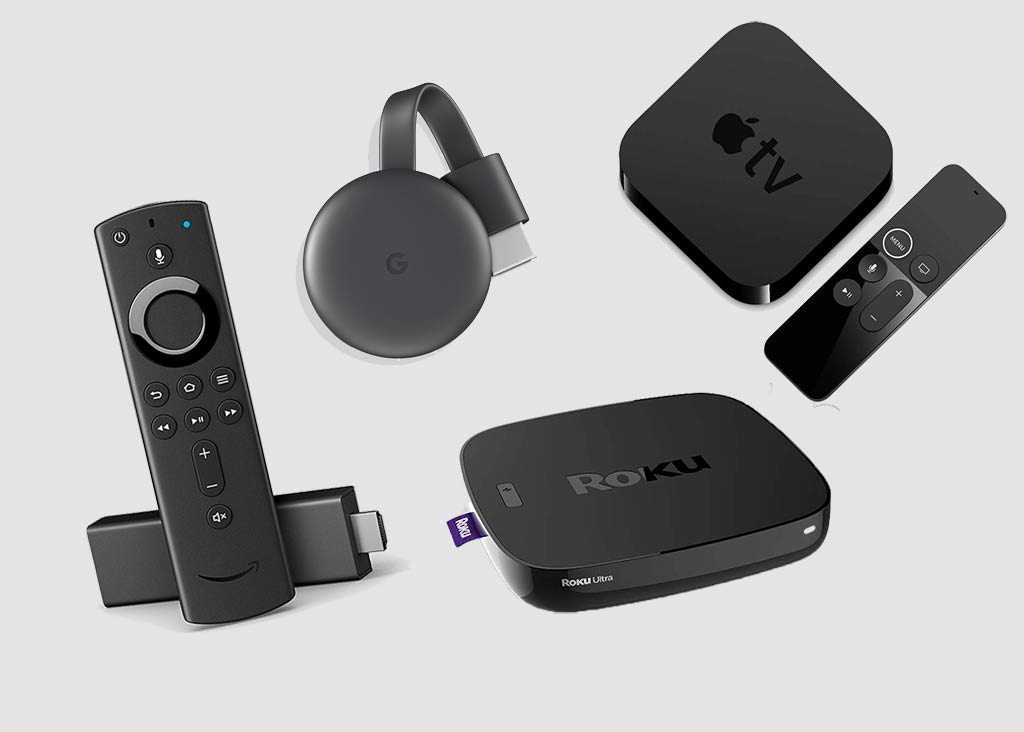 dispositivi streaming TV stick e TV box