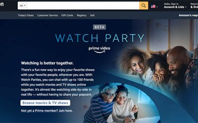 Amazon Watch Party: cos'è e come funziona