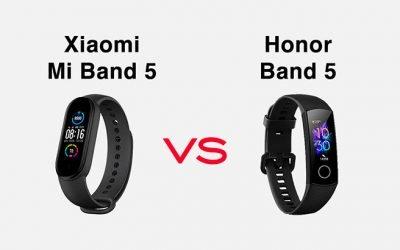 Mi Band 5 vs Honor Band 5: le differenze