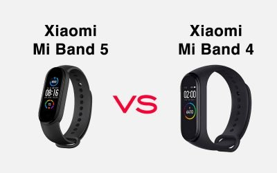 Mi Band 5 vs Mi Band 4