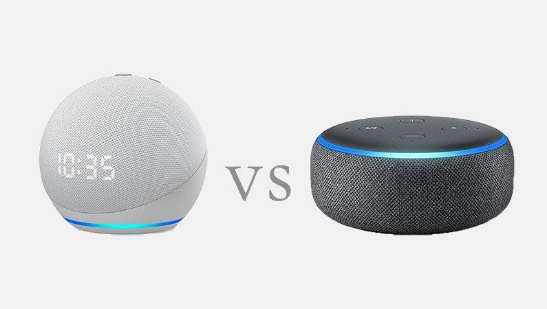 Amazon Echo Dot 4 vs Echo Dot 3