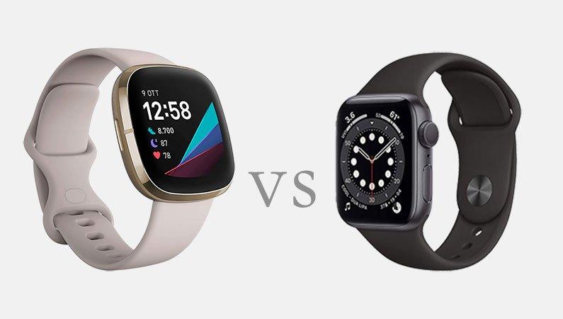 Apple Watch Series 6 v Fitbit Sense