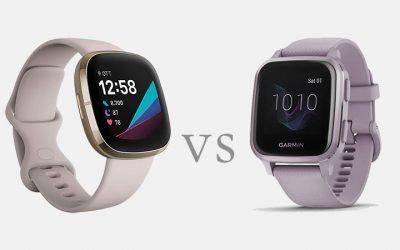 Fitbit Sense vs Garmin Venu Sq: confronto dettagliato