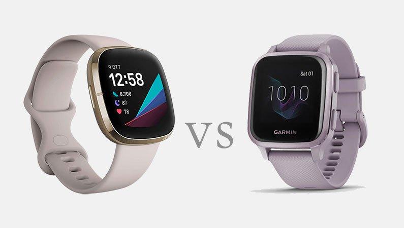 Fitbit Sense vs Garmin Venu Sq