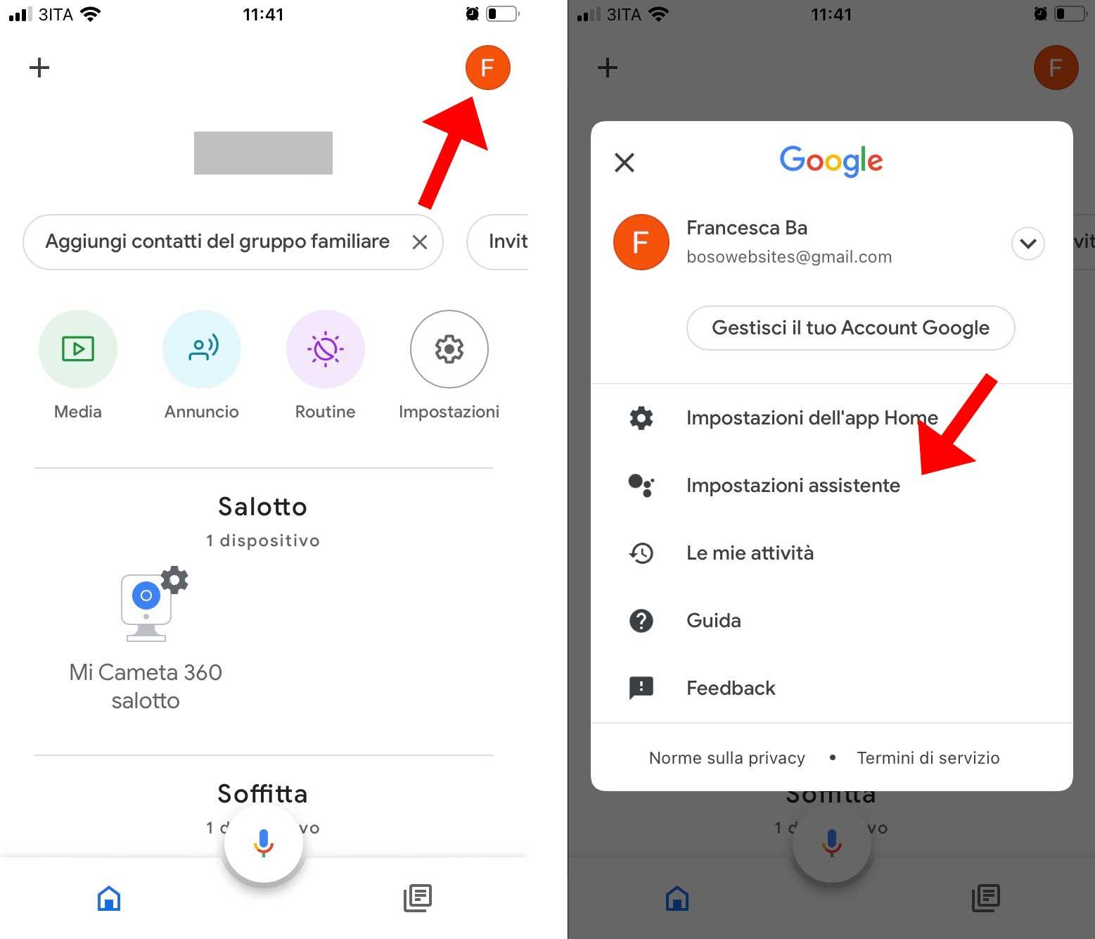 Cambiare lingua Google Nest Hub